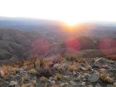 Sonnenuntergang auf 3600m