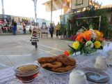 Buñuelos mit Honig